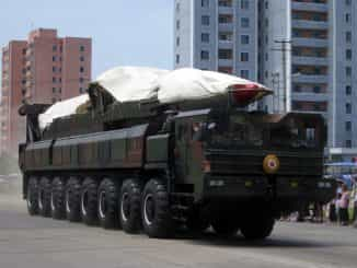 North Korea's ballistic missile