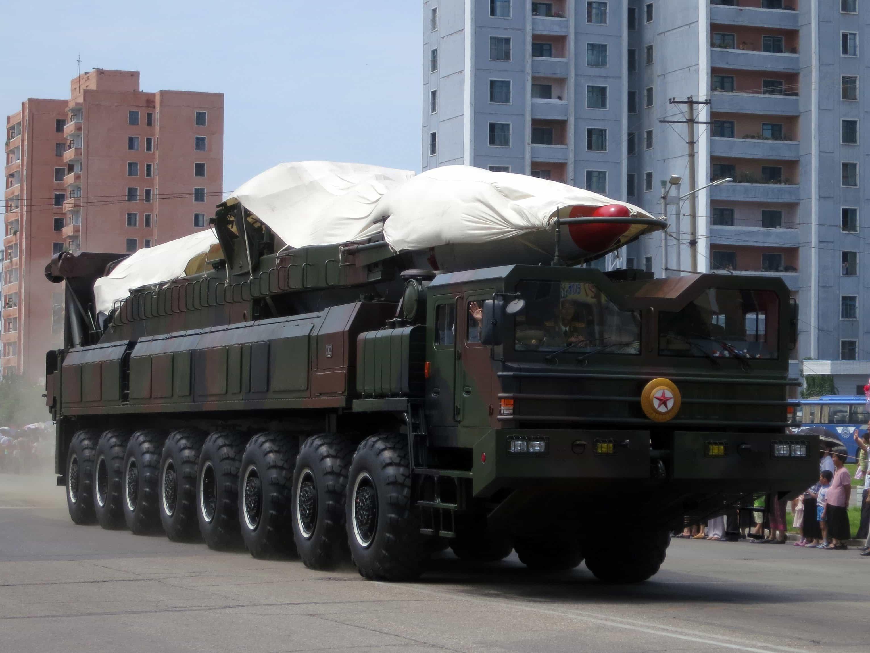 North Korea's ballistic missile