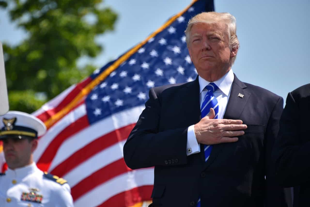 What is President Trump's strategy for winning re-election?