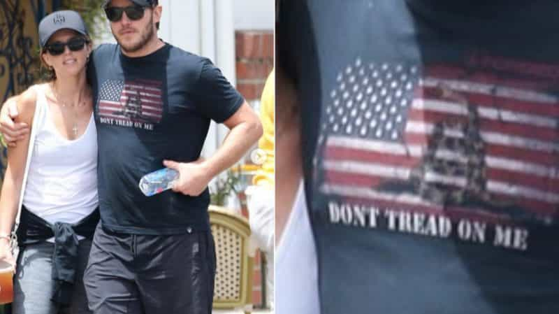 Chris Pratt Flag TShirt