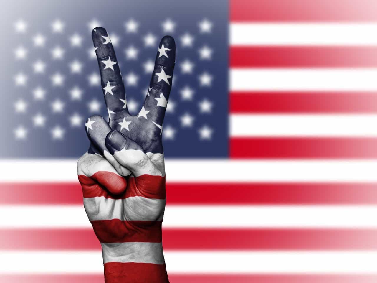 US Peace Flag
