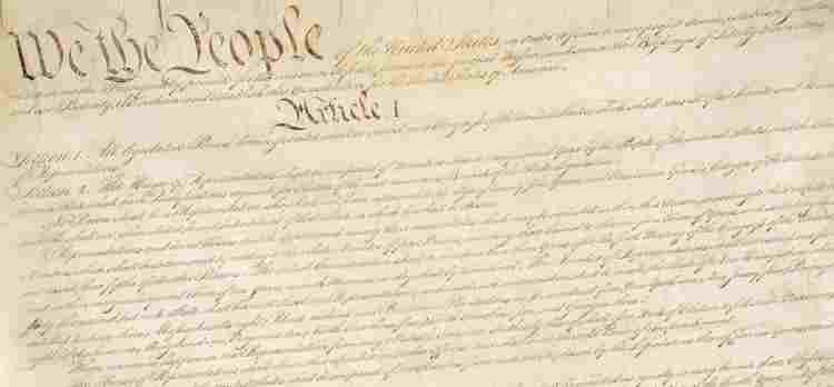 Constitution of the United States page 1 We the People